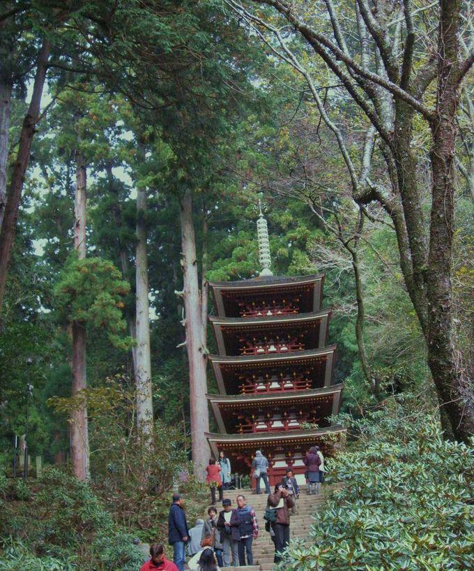 室生寺といったら、五重塔
