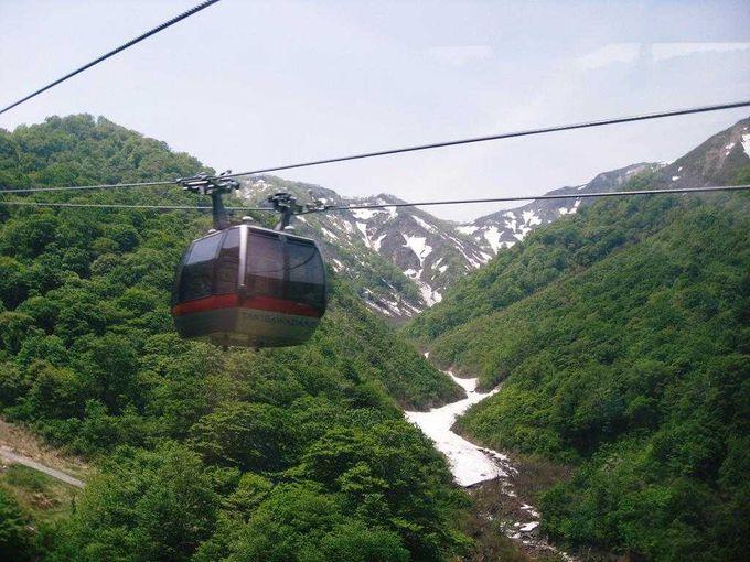 猿ヶ京温泉から、谷川岳はすぐそこ