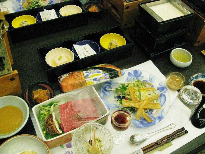 ヘルシーな豆腐懐石料理