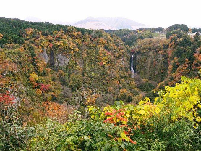 日本滝百選のひとつ