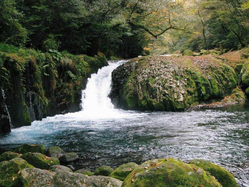 菊池渓谷から阿蘇山へ
