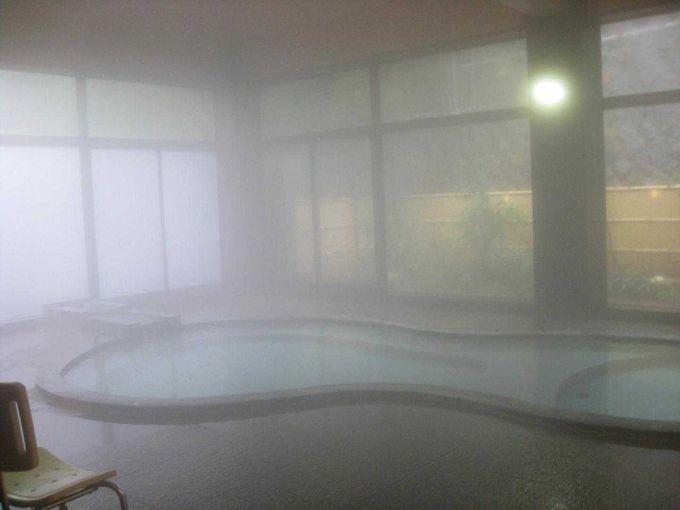 世界一のカルシウム含有量の温泉