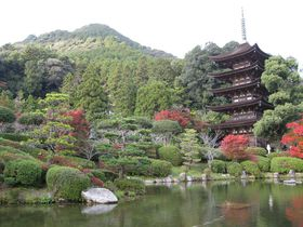 大内文化を伝える山口県山口市の「瑠璃光寺五重塔」