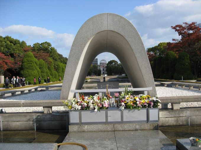 3.大人になった今こそ!「広島平和記念公園・原爆ドーム」