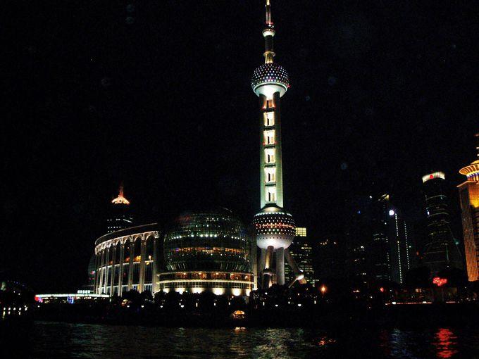 上海のシンボル的なテレビ塔