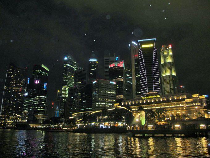 シンガポールと言ったらマーライオン!