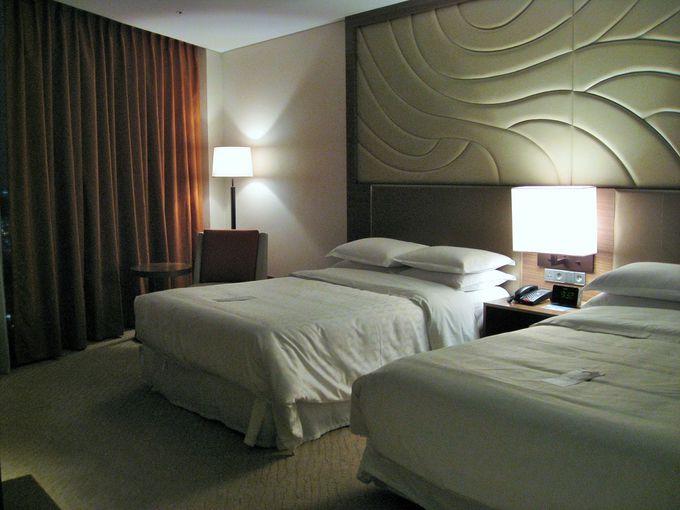シンプルで機能性の高い客室