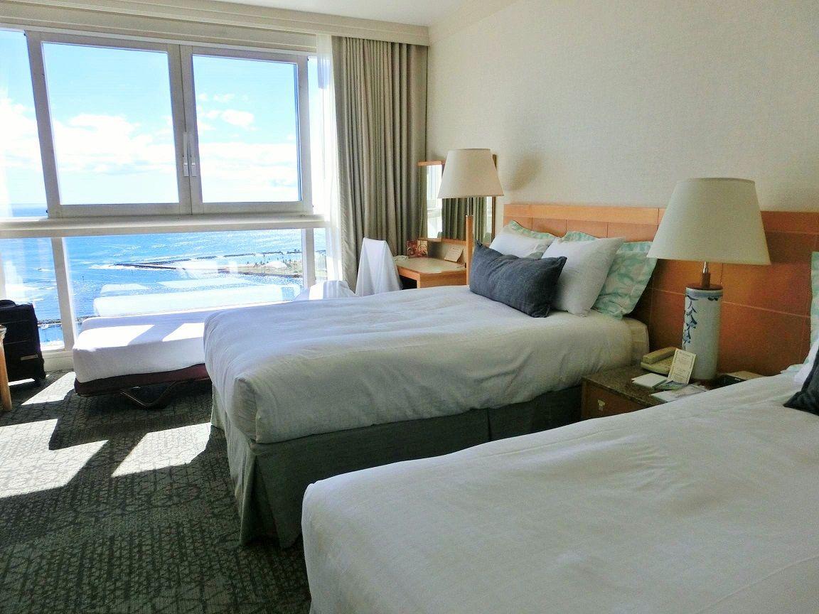 どの部屋も海が目の前!ハワイ・プリンスホテル・ワイキキ