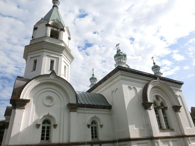 函館を代表する建築物「函館ハリストス正教会」