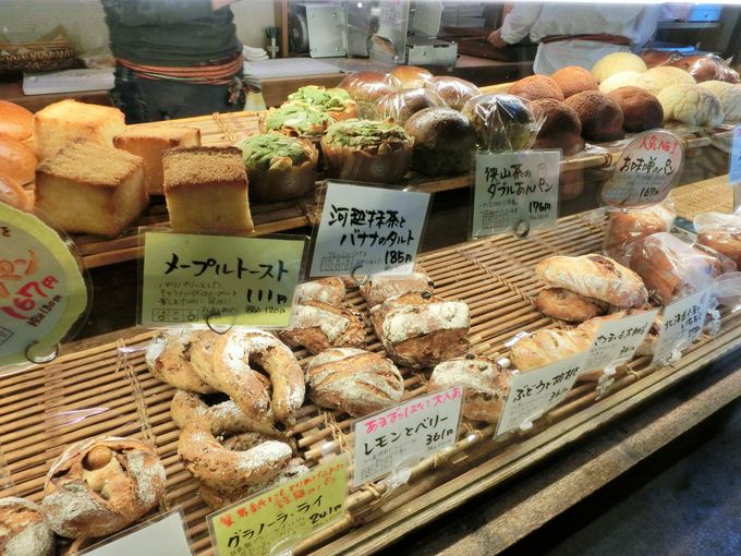 埼玉ならではのパンもお勧め
