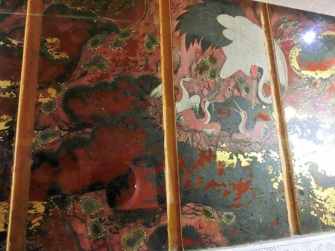 二百十余年ぶりの出現!の壁画