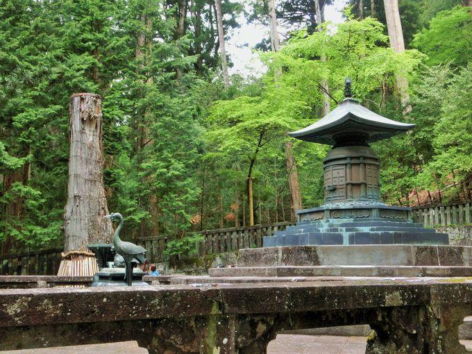 2つ目のスポットは、徳川家康公の墓所