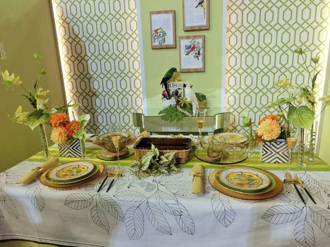 季節を感じるテーブル