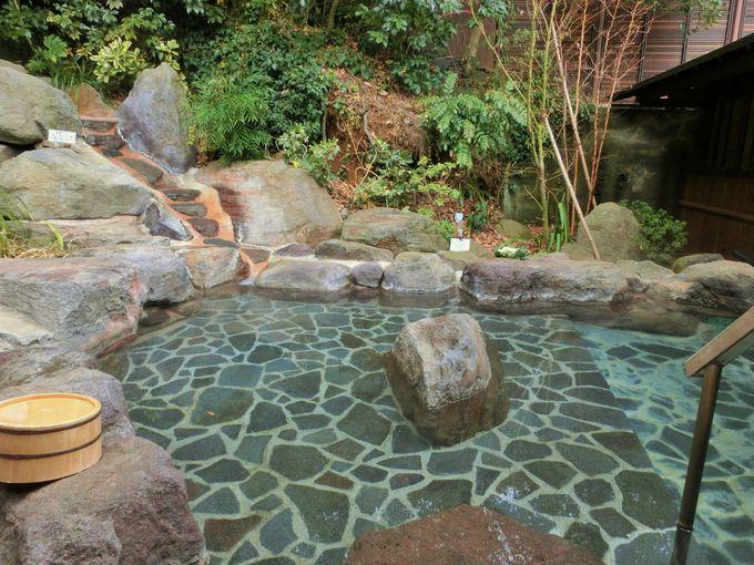 山荘露天風呂