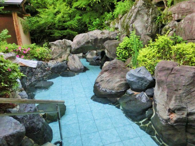 趣の違う温泉の数々