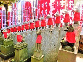 稲荷でも寺院!?イケメンの狐がいっぱい「豊川稲荷東京別院」