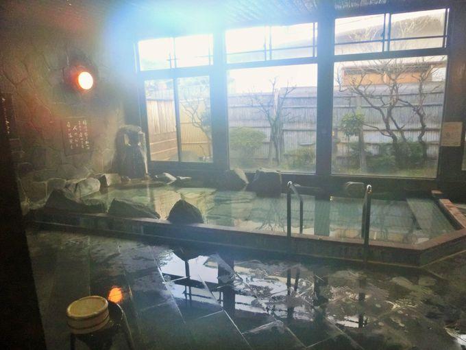 ラドン浴ができる大浴場