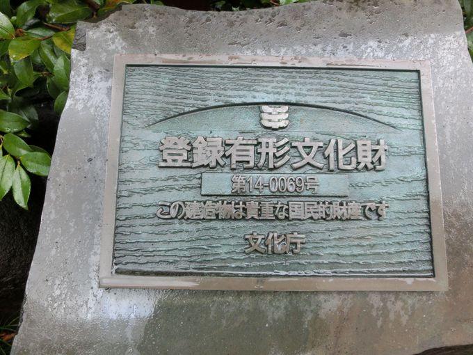 登録有形文化財の建物