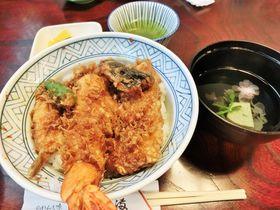 有形文化財で名物の天丼を味わう!小田原「だるま料理店」