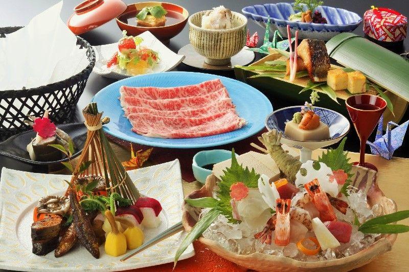絶品近江牛の料理も味わえる