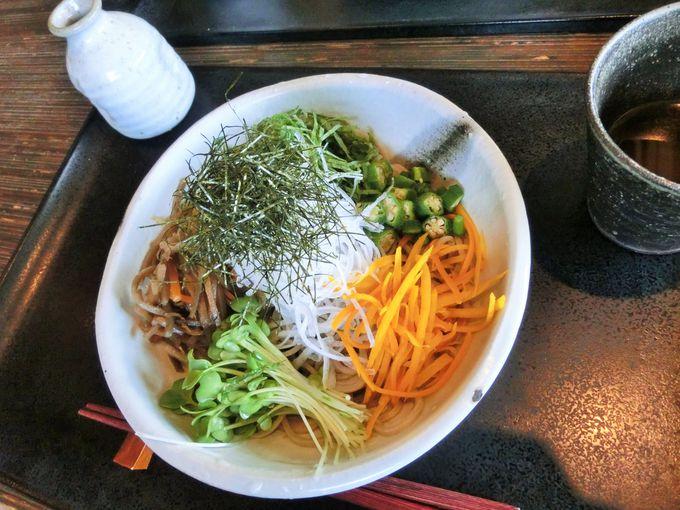 「嵐山よしむら」では京都らしい蕎麦がおすすめ
