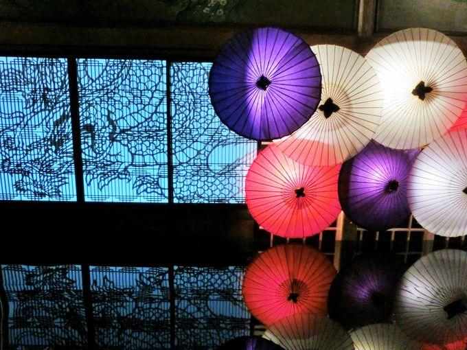 和傘の美しさと、江戸職人の技