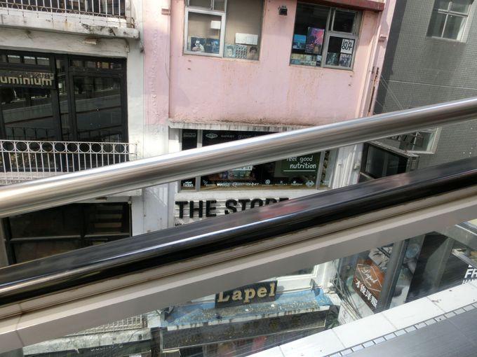 世界最長の屋外エスカレーター