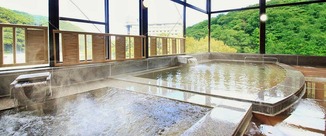 大浴場「星の湯」&「月の湯」