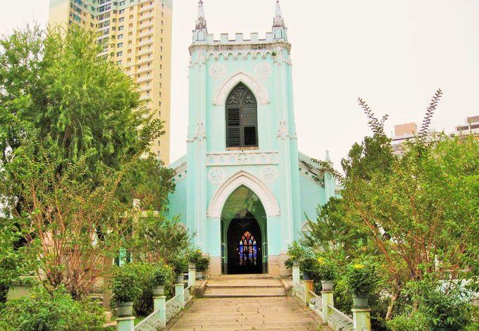小さいけれど素敵な聖ミカエル聖堂