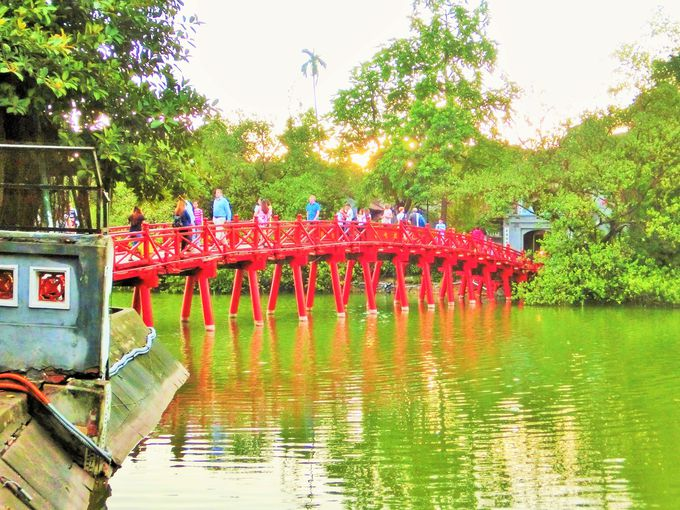 橋の上は映えスポット