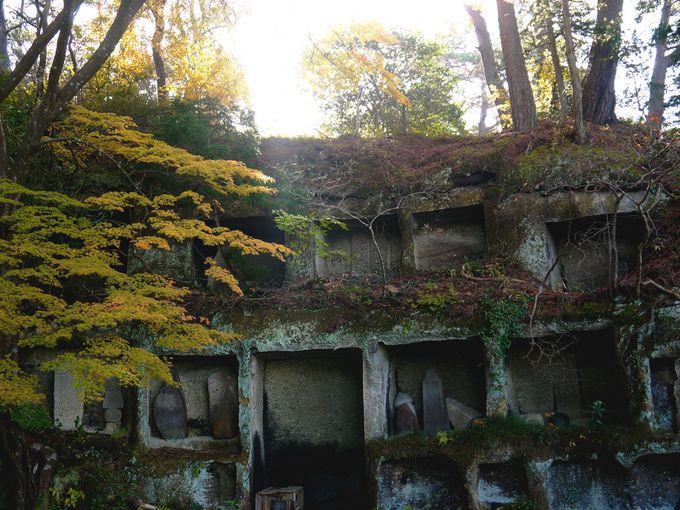 霊場たる所以が岩窟でわかる見逃せないスポット