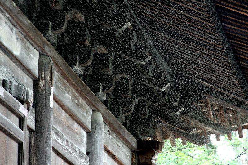 日本と大陸の建築様式が融合した、「折衷様」のさきがけという点が評価されて国宝に