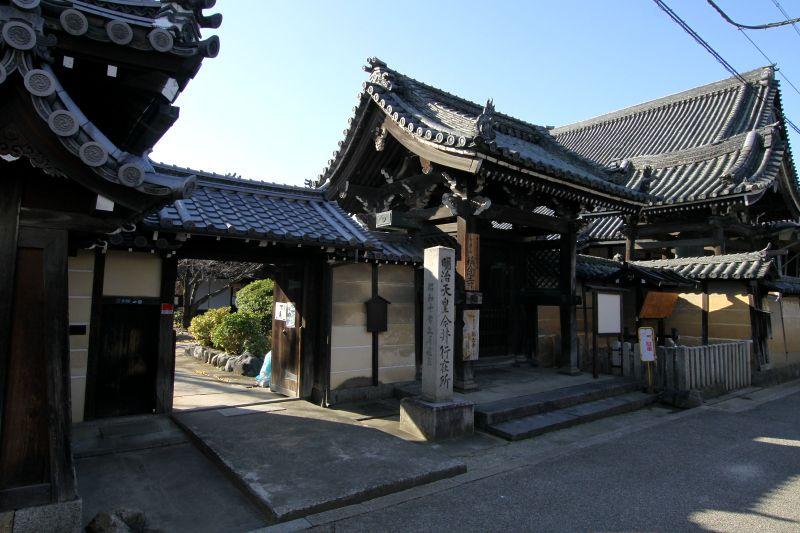 寺内町として築かれ、商家町として大発展