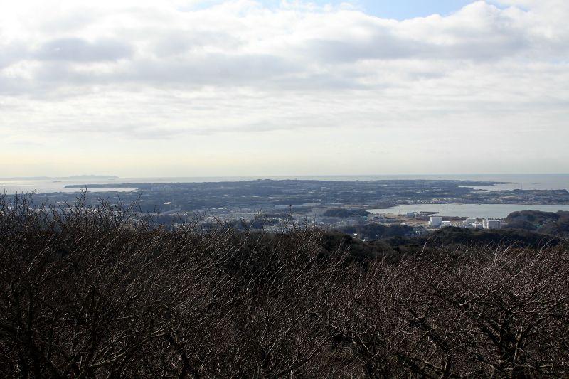 東には房総半島、西には富士山、全方位の眺めを満喫しよう