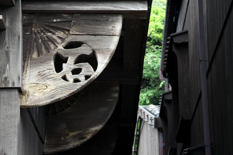 北前船で栄えた船主・船大工の集落