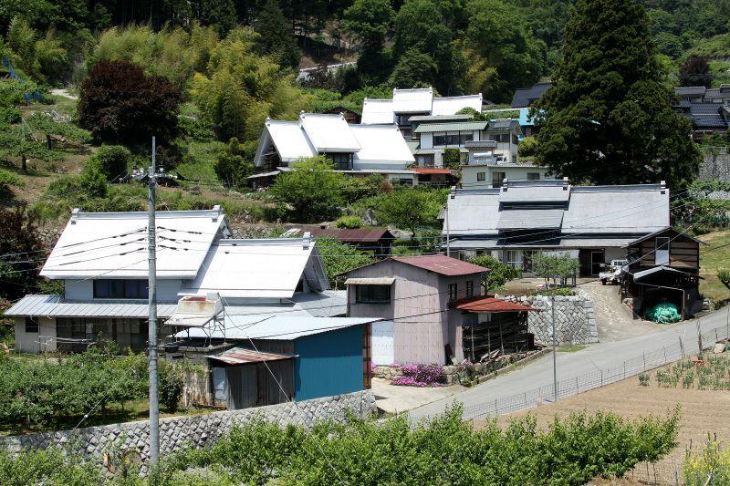 江戸時代から変わっていない集落の規模