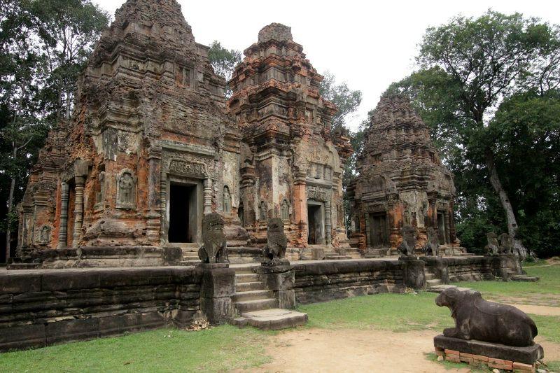 アンコール最古の寺院「プリア・コー」