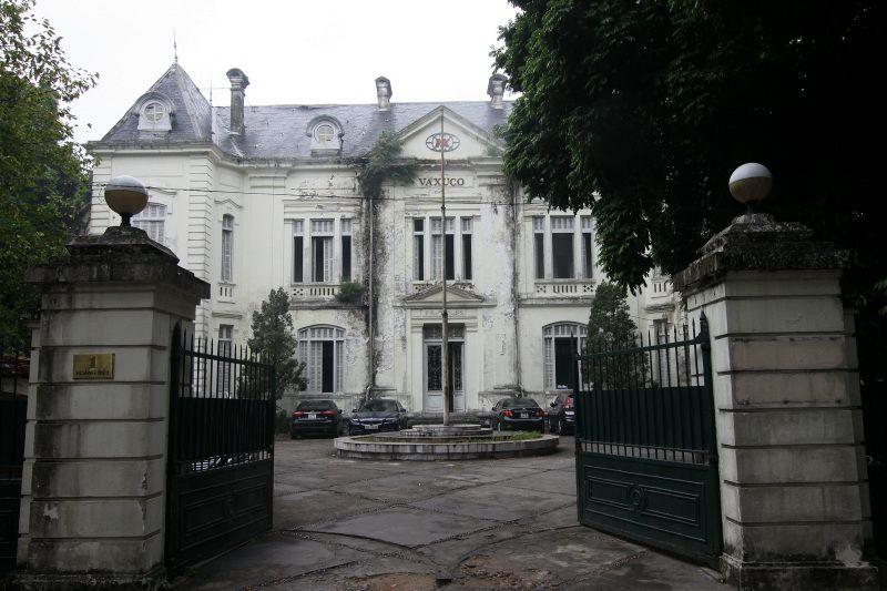 フランスによって築かれた、タンロン遺跡に残るコロニアル建築群