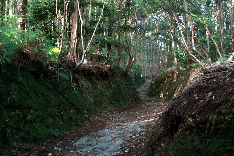 塚地峠を越える「青龍寺道」と横浪三里の船旅