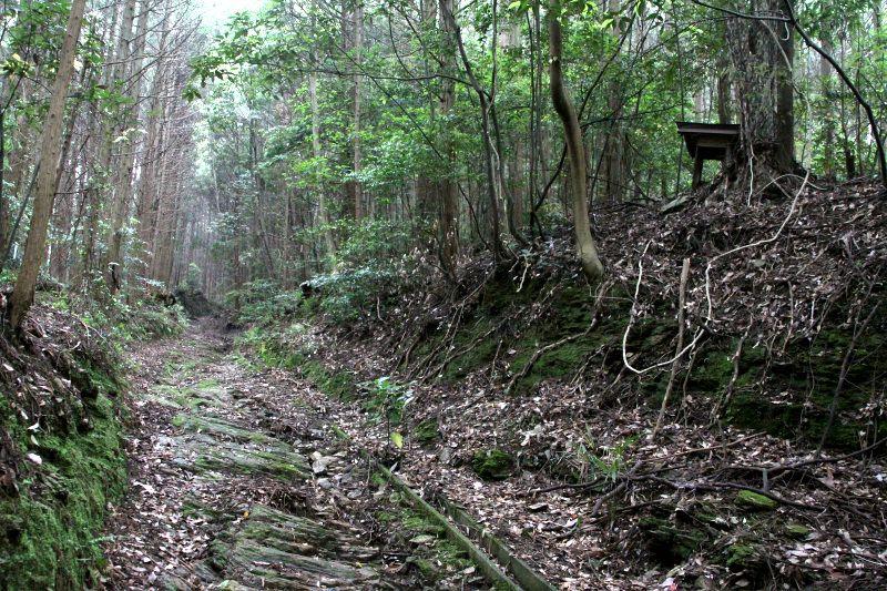 太陽と月の神様が鎮座する藩境の峠道「鳥坂峠」