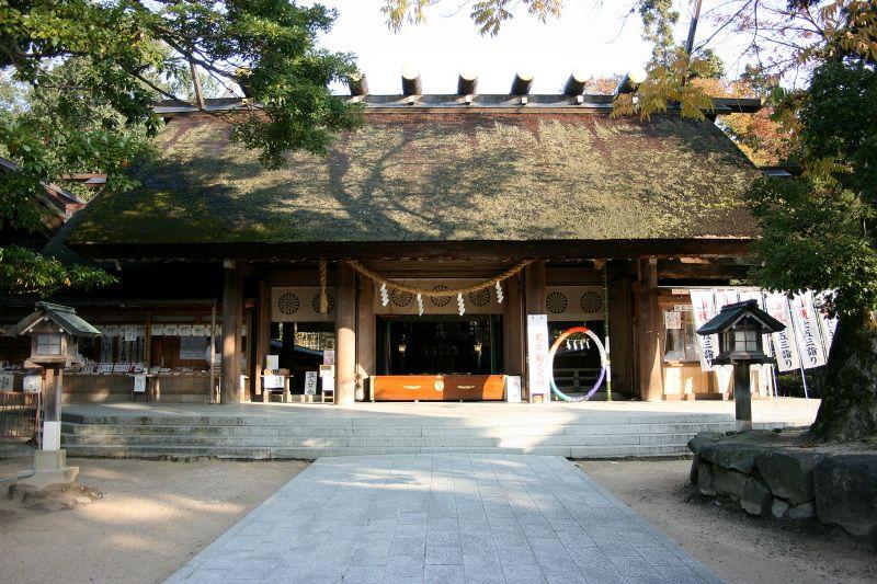 丹後国一ノ宮の「籠神社」にお参りしよう