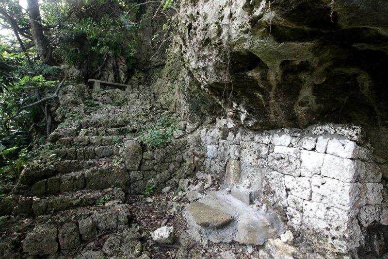 安慶名の按司によって築かれた安慶名城