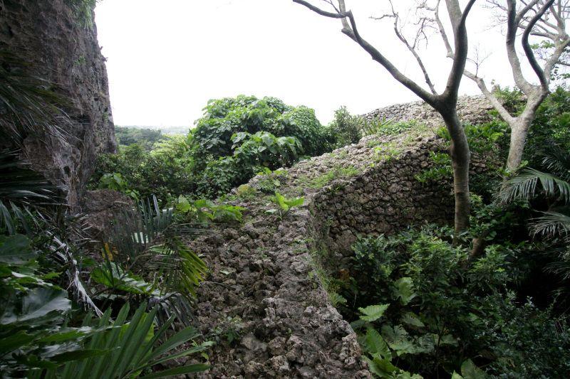 城壁の上を歩いて城の全貌を見渡そう