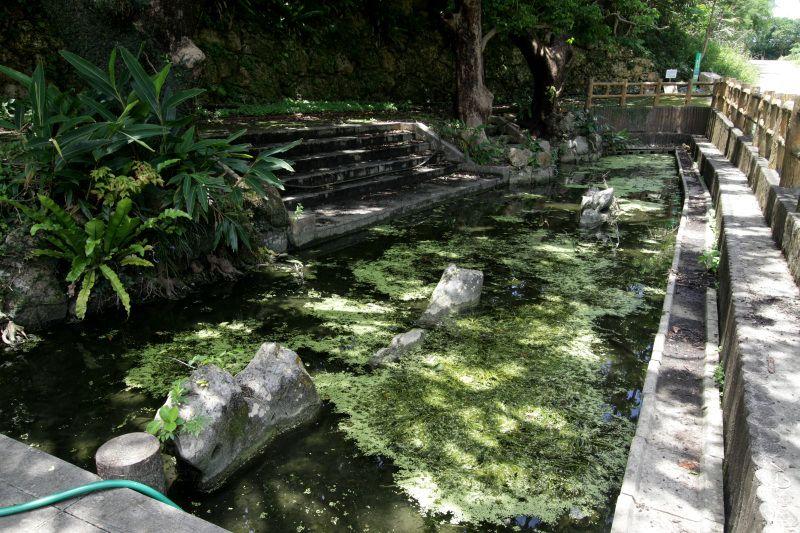 清らかな水が湧き出す「親川(エーガー)」
