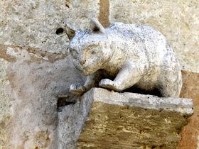 世界遺産の教会がそびえる猫の村。フランス「ラ・ロミュー」