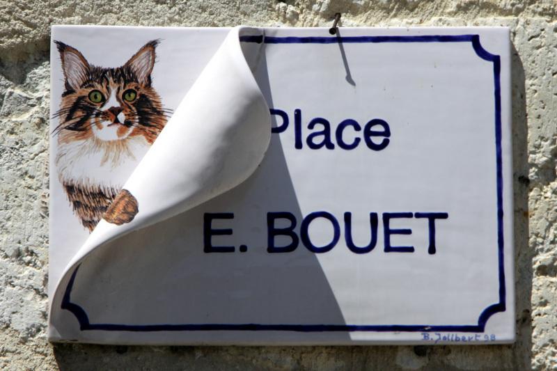 ラ・ロミューに語られる猫の伝説