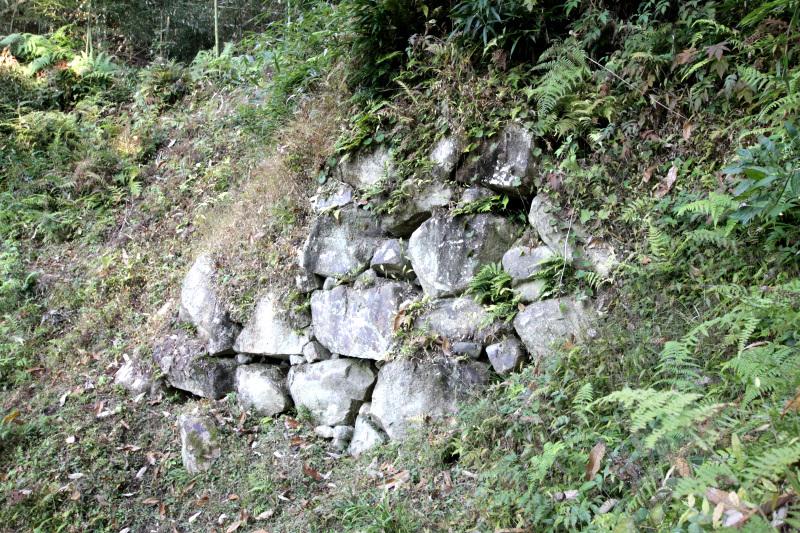 当時としては画期的!石垣で築かれた「大手門」