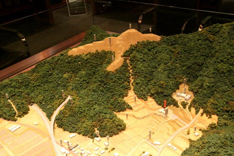 10年にわたり朝倉氏の侵攻を防ぎ続けた国吉城