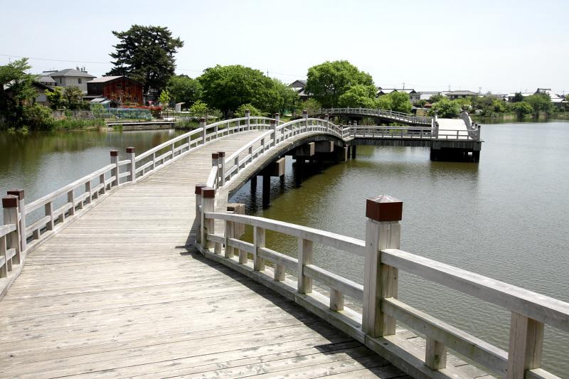 「乙女ヶ池」と「打下集落」に見られる水辺の風景