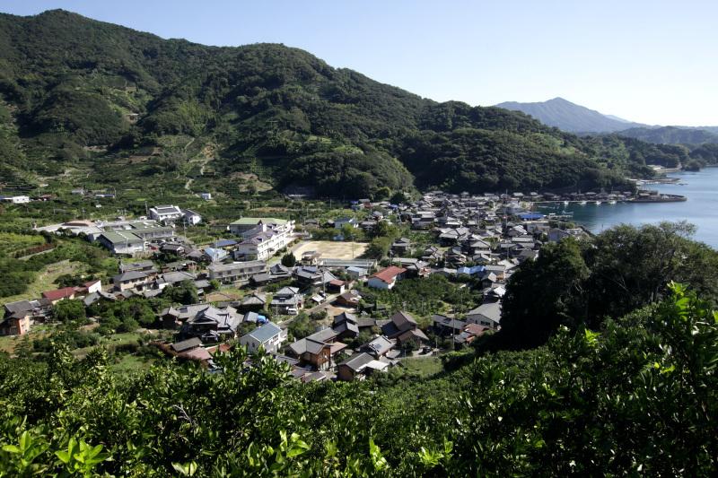 趣きある2つの集落から成る狩浜地区